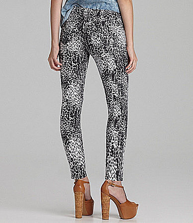 Copper Key Animal-Print Ankle Pant