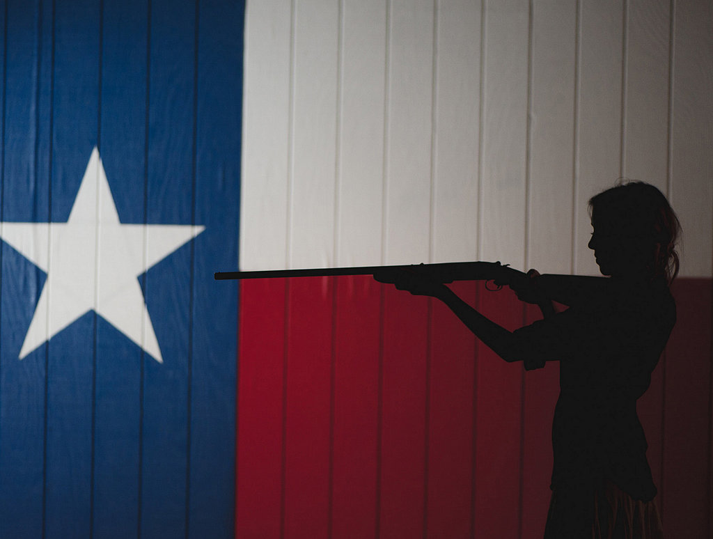 Texan Flag Backdrop