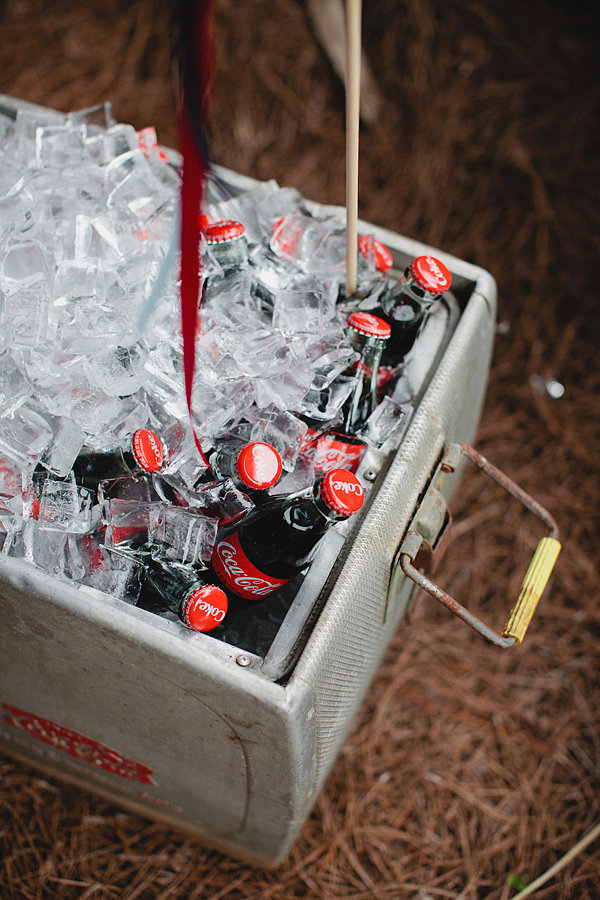Retro Coke Bottles