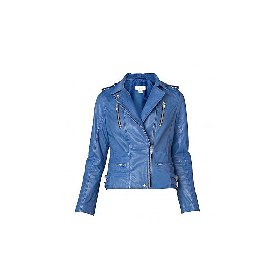 The Blue Biker Jacket