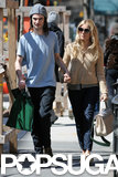 Sienna Miller and Tom Sturridge Hold Each Other Tight on a Lunch Date