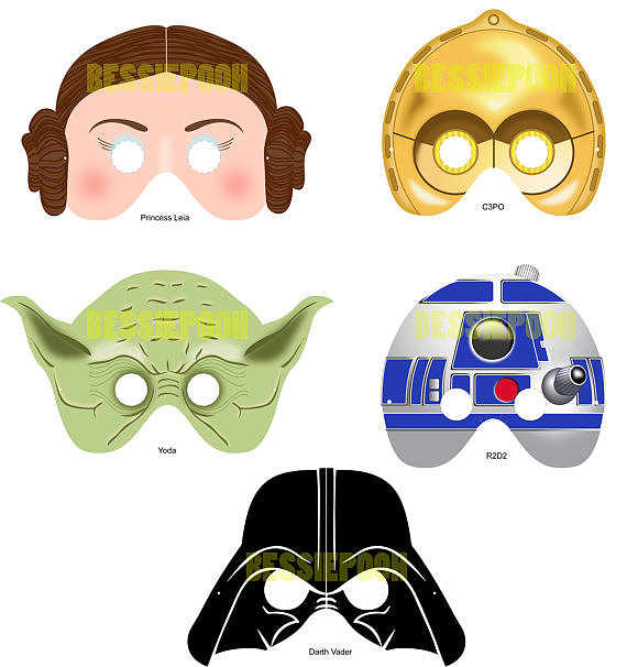 Can't have a Star Wars-themed wedding even though you really want to? Go for the next best thing with these printable props ($15) featuring Darth Vader, R2-D2, and more of your favorites.