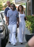 Beyoncé and Jay-Z outfitted perfect vacation wear for their trip to St. Barts in 2008.