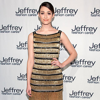 Emmy Rossum Wearing Naeem Khan