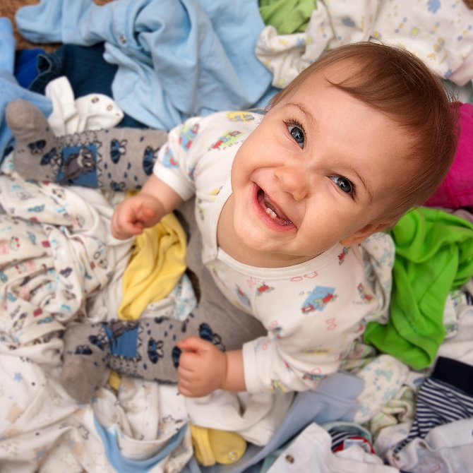 What to Do With Baby Clothes