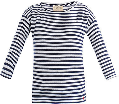 Velvet Lily Aldridge stripe T-shirt