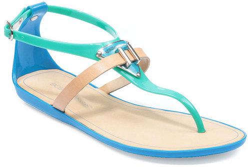 BCBGeneration Shoes, Calantha Flat Jelly Sandals