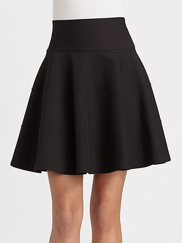 Robert Rodriguez Seamed Fit and Flare Skirt
