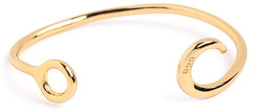 Giles & Brother Gold Hook Cuff