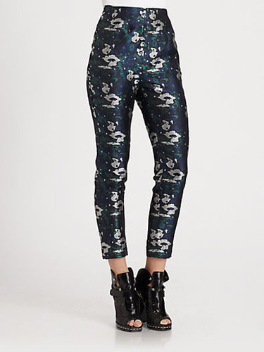 Opening Ceremony Floral Jacquard Pants