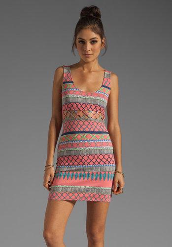 Mara Hoffman Lattice Mini Dress