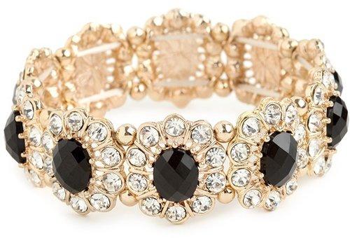 Onyx Bloom Bracelet