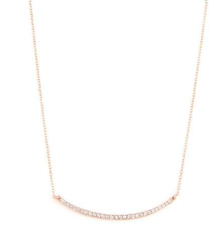 Rose Gold Glitz Bar Pendant