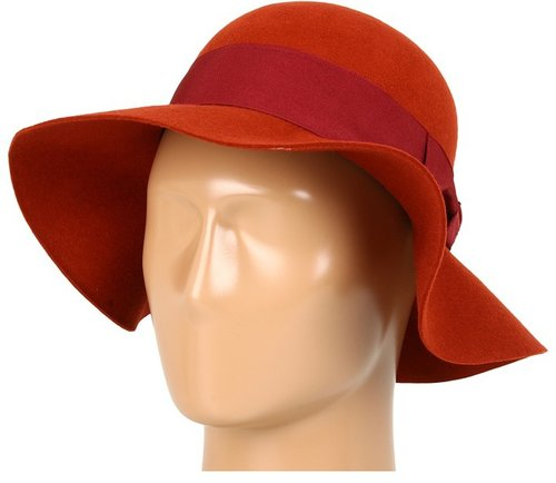 Grace Hats - E.X. Hat Wool Floppy (Orange) - Hats