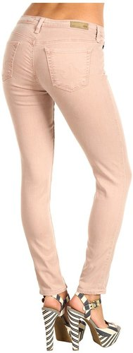 AG Adriano Goldschmied - The Legging Ankle Twill in Nude (Nude) - Apparel