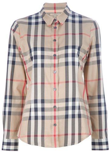 Burberry Brit 'house' check shirt