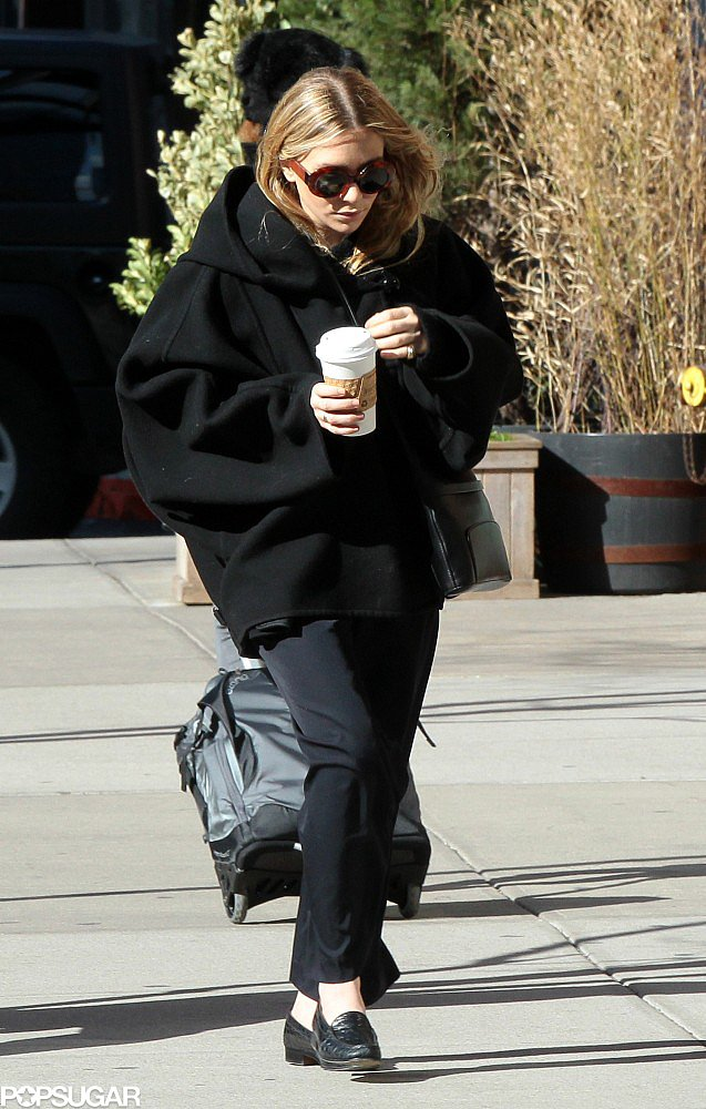 Ashley Olsen Steps Out in NYC As Mary-Kate Addresses Engagement Rumors