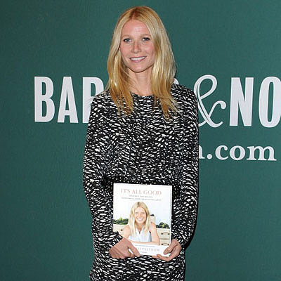 Gwyneth Paltrow Promotes New Cookbook at The Grove in LA