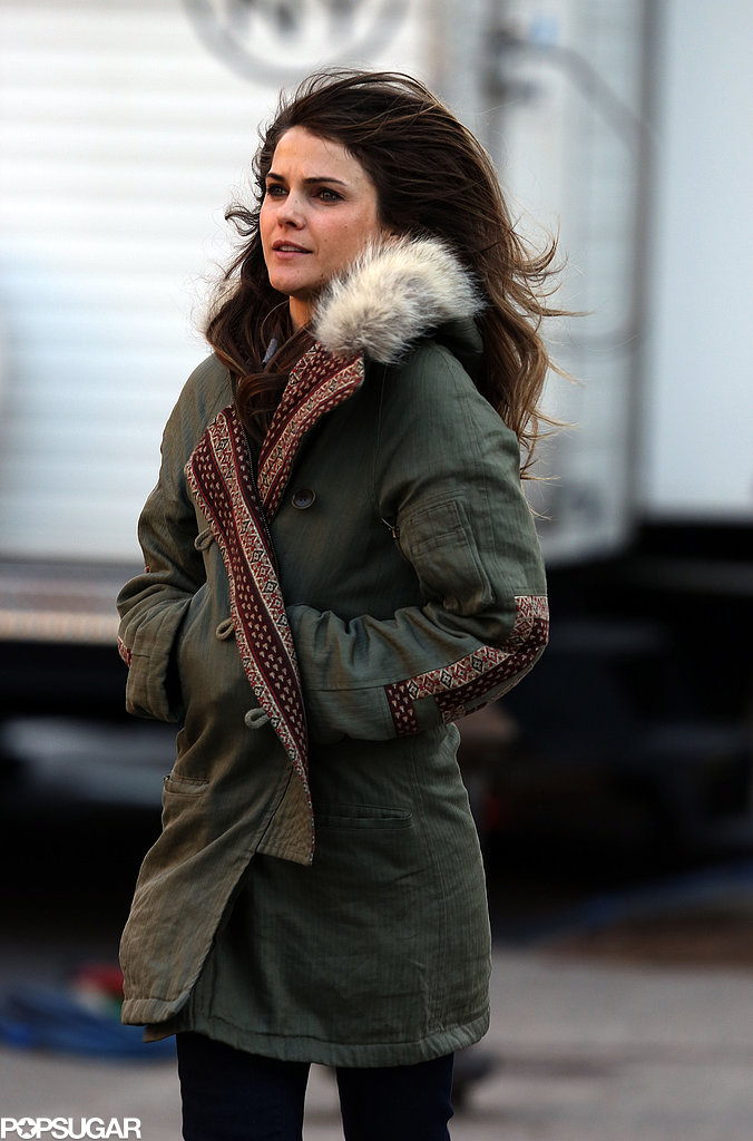 Keri Russell Goes Undercover Filming The Americans