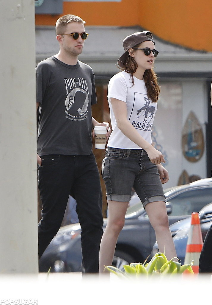 Robert Pattinson and Kristen Stewart Show PDA in LA