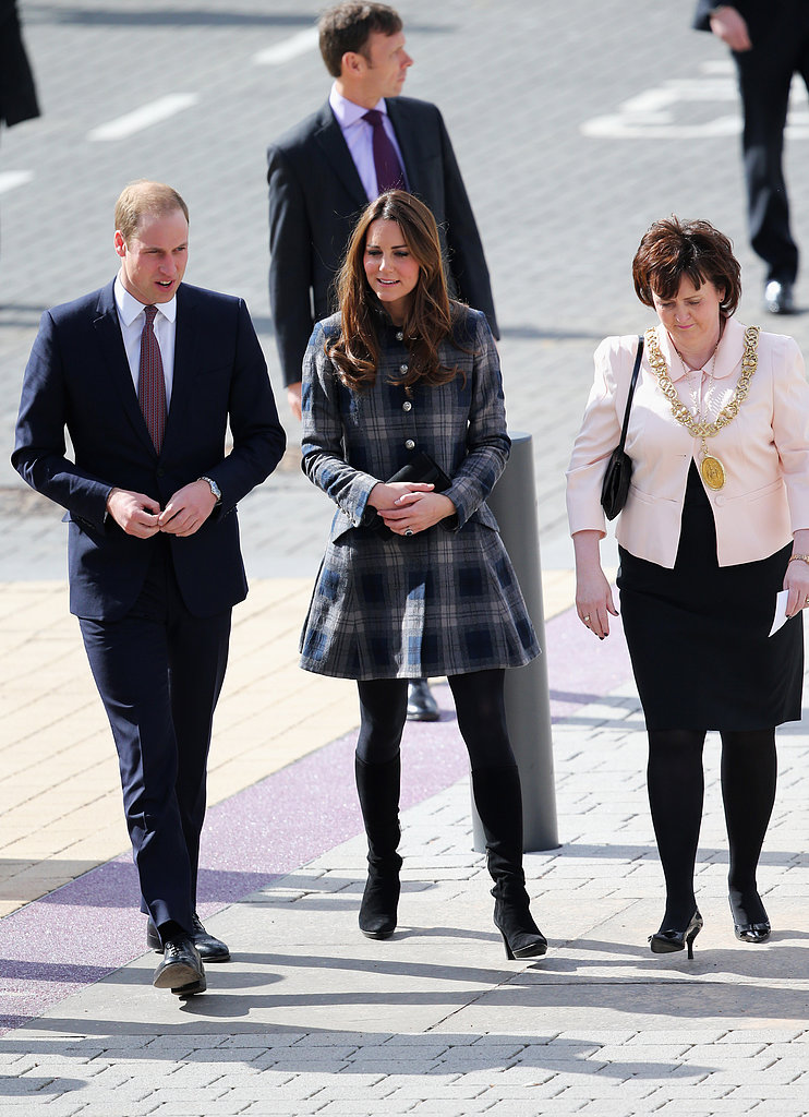 Kate Middleton and Prince William visited the Emirates Arena.