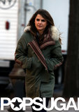 Keri Russell headed to the set of The Americans in NYC on Wednesday.