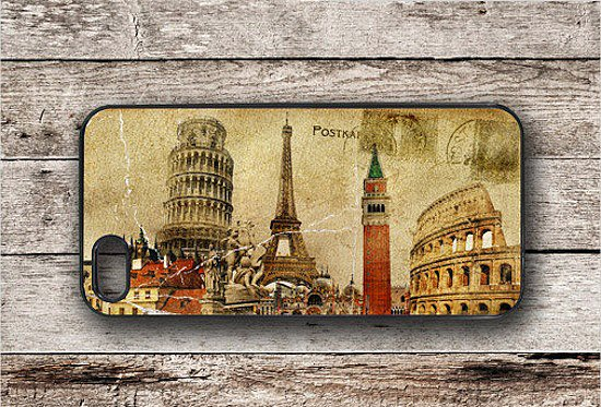 You'll be reminded of all your favorite travel sights when you glance down at this iPhone case ($19) that's modeled after a vintage travel  postcard.