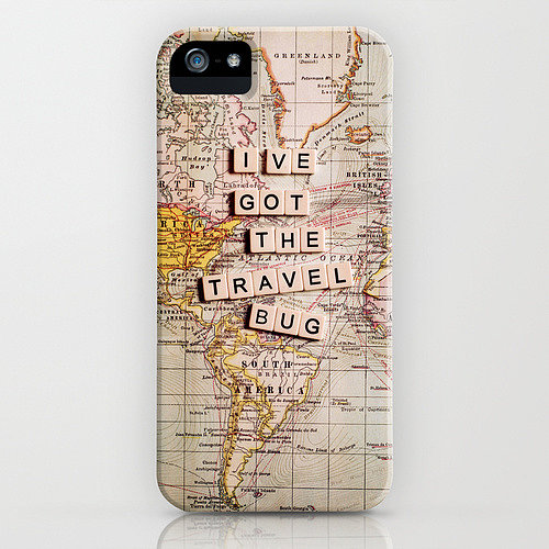 Travel-Themed iPhone Case
