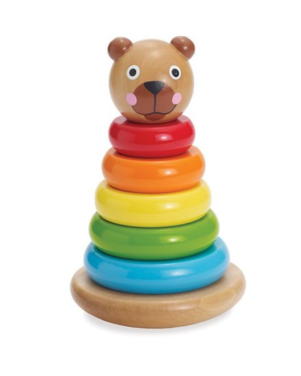 Manhattan Toy Brilliant Bear Magnetic Stack-Up