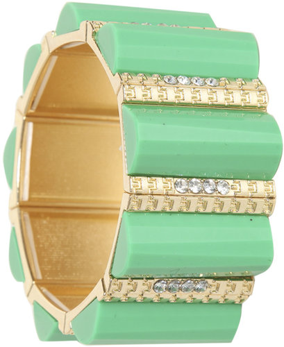Linear Bar Stretch Bracelet