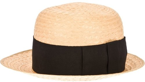 Chanel Vintage straw hat