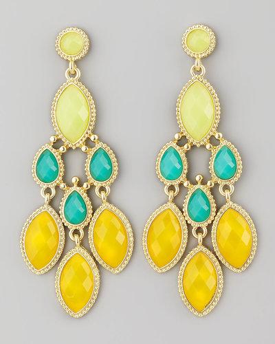 Panacea Diamond-Shape Drop Earrings