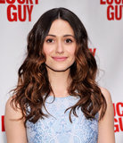 From her periwinkle dress to her apricot shadow and pink lips, Emmy Rossum showed us how to master the art of wearing pastels.