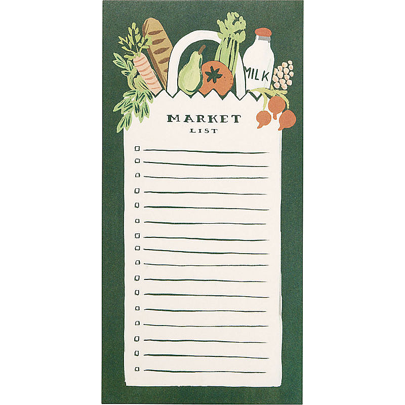 Market List Pad