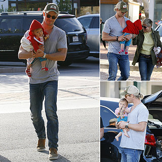Chris Hemsworth and Elsa Pataky With Kid India | Photos
