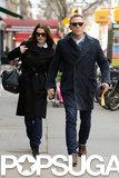 Daniel Craig held Rachel Weisz's hand.