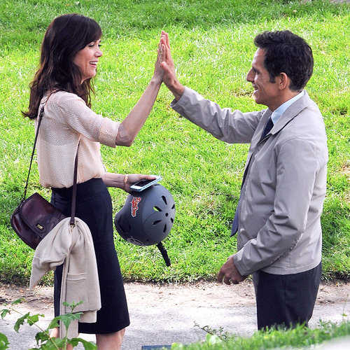 Celebrities Giving High Fives | Photos