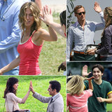 Fun Celebrity High-Five Moments!