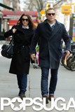 Rachel Weisz and Daniel Craig walked together in NYC.