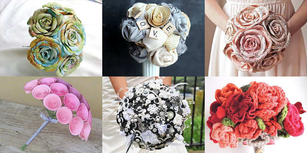 Eco-Friendly Bride: Upcycled Wedding Bouquets