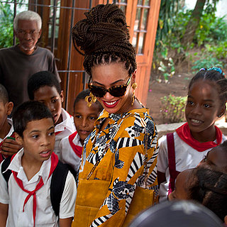 Beyonce Wears Yellow Outfit in Cuba (Video)