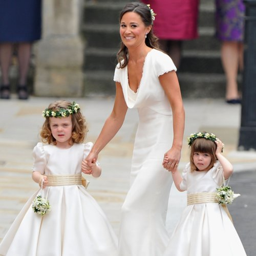 Celebrity Flower Girls