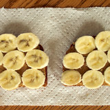 Wheat Toast With Almond Butter and Banana