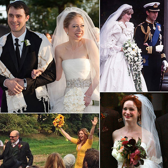 Find Blooming Inspiration in Celebrities' Beautiful Wedding Bouquets