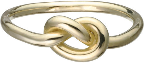 Finn Gold Love Knot Ring