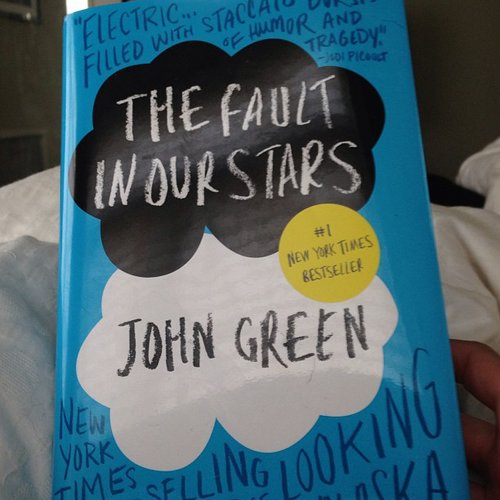 "On John Green's The Fault in Our Stars, mollygoodson commented, ""Well, this made me cry."""