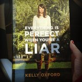 "Nikkisoda shared a pic of Kelly Oxford's book Everything Is Perfect When You're a Liar along with the caption: ""Mail Surprise! Look what showed up a day early."""