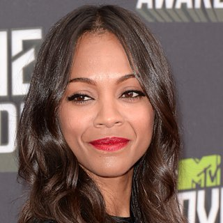 Zoe Saldana Hair | MTV Movie Awards 2013