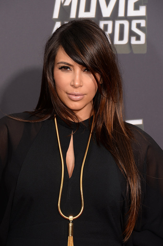 Kim Kardashian at the MTV Movie Awards