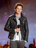 Fans were screaming when Eddie Redmayne presented the 2013 Trailblazer Award.